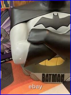 Vintage Heavy Batman Animated 18 Bust Statue 1997 Warner Bros Studio Store Rare
