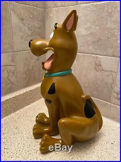 Vintage Rare 12 1998 Scooby Doo Resin Statue Warner Bros Hanna Barbera