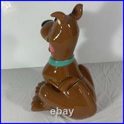 Vintage Scooby Doo Cookie Jar with Original Box 1997 Warner Bros Studio Store RARE