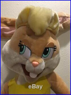 Vintage Space Jam Looney Tunes Lola Bunny Hare Jordan 48 Plush Rare HTF