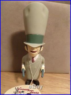 Warner Bros Looney Tunes Rocky & Mugsy Vinyl Collector Dolls Bugs Bunny NWT Rare