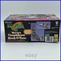 Warner Bros. Space Jam Marvins Countdown Rock-O-Tron 1996 Jordan Vintage Rare