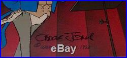 Warner Brothers Bugs Bunny Cel Maestro Bugs Signed Chuck Jones Rare Edition Cell