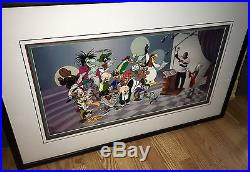 Warner Brothers Bugs Bunny Cel We Are The Tunes Signed Quincy Jones Rare Cell