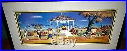 Warner Brothers Cel Bugs Sylvester Tweety Foghorn Strike Up The Band Rare Cell