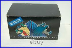 Warner Brothers Store Batman and Robin Bookends Rare New in Box Statue 1999