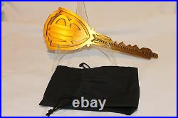 Warner Brothers Studio Key to the Studio RARE COLLECTABLE Prop Gift Movie WB