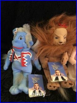 Wizard Of Oz Plush Collectable Rare Warner Bros Collection