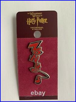 Wizarding World Harry Potter Zonko's Pin SUPER RARE