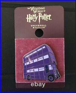 Wizarding World Of Harry Potter Pin Universal Studios Knight Bus VERY RARE